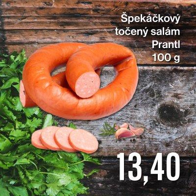 Špekáčkový točený salám Prantl 100 g