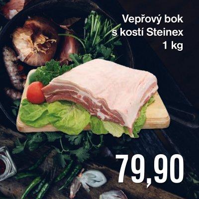 Vepřový bok s kostí Steinex 1 kg
