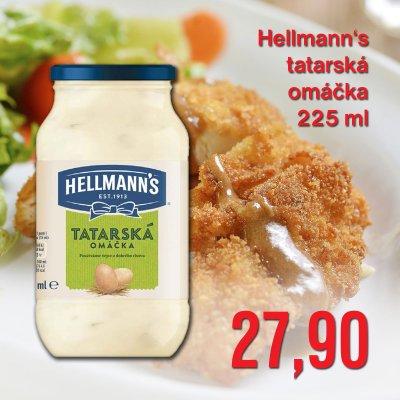 Hellmann's tatarská omáčka 225 ml