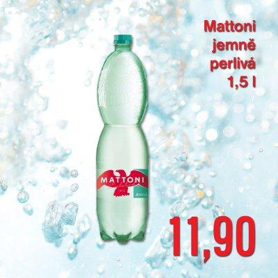 Mattoni jemně perlivá 1,5 l