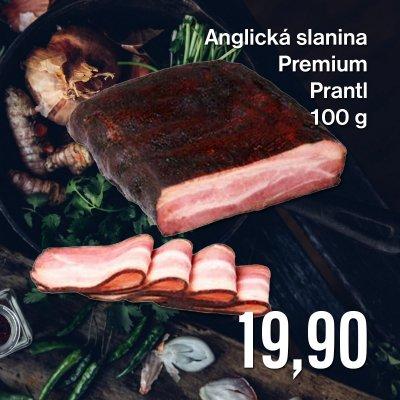 Anglická slanina Premium Prantl 100 g