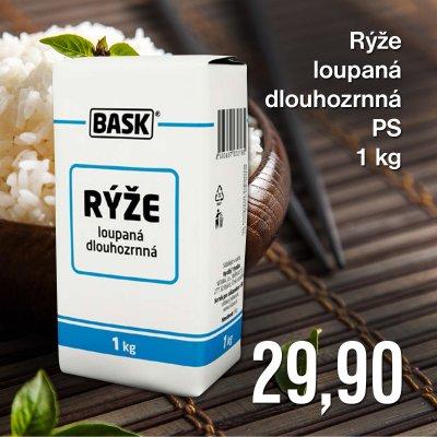Rýže loupaná dlouhozrnná PS 1 kg