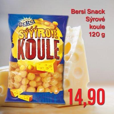 Bersi Snack Sýrové koule 120 g