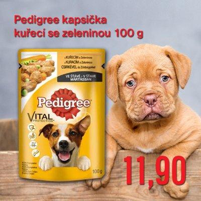 Pedigree kapsička kuřecí se zeleninou 100 g