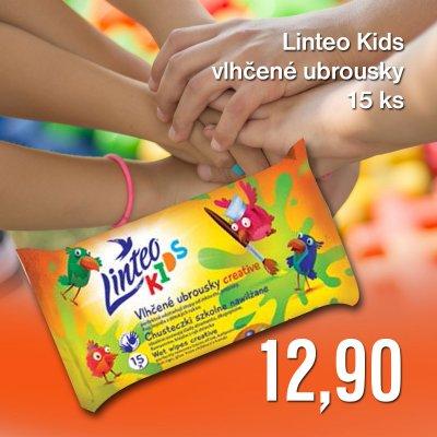 Linteo Kids vlhčené ubrousky 15 ks