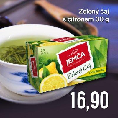 Zelený čaj s citronem 30 g