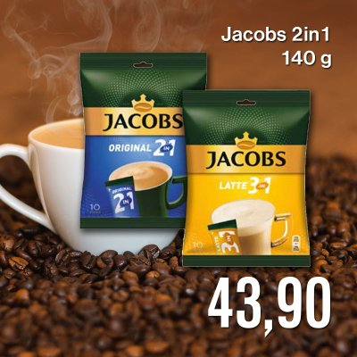 Jacobs 2in1 140 g