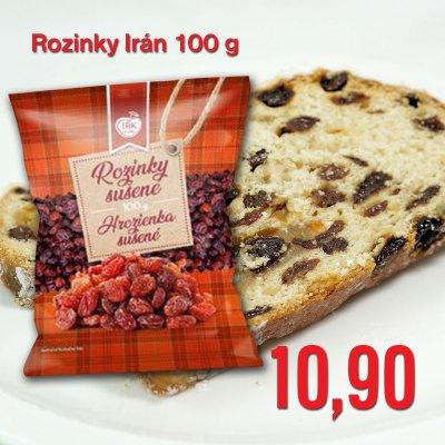Rozinky Irán 100 g