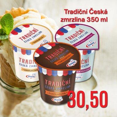 Tradiční Česká zmrzlina 350 ml