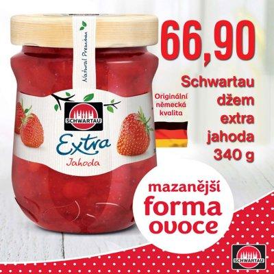 Schwartau džem extra jahoda 340 g