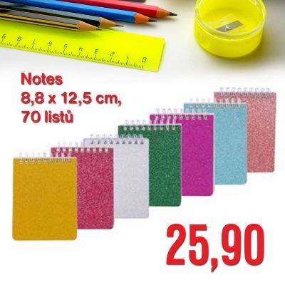 Notes 8,8 x 12,5 cm, 70 listů