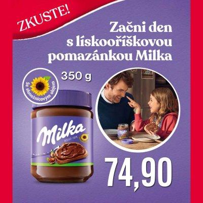 Milka lískooříšková pomazánka 350 g