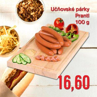 Učňovské párky Prantl 100 g