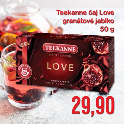 Teekanne čaj Love granátové jablko 50 g