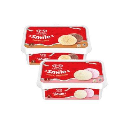 Smile Strawberry-Vanilla 900 ml