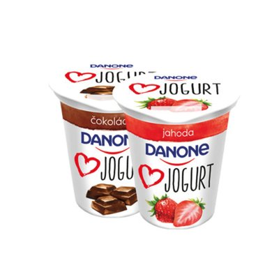 Danone jogurt jahoda 140 g