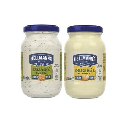 Hellmann's tatarská omáčka / majonéza 210 ml