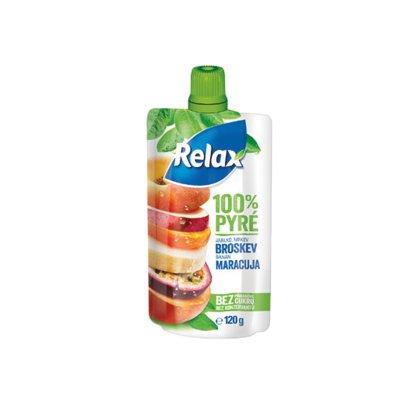 Relax pyré 100% broskevmaracuja 120 g