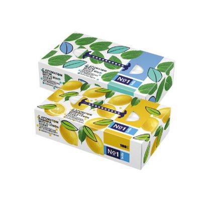 Bella No1 hygienické papírové kapesníky Máta 100 ks