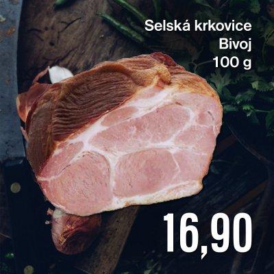 Selská krkovice Bivoj 100 g