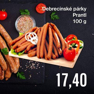 Debrecínské párky Prantl 100 g