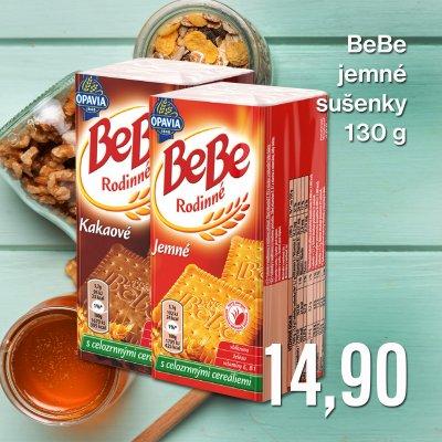BeBe jemné sušenky 130 g