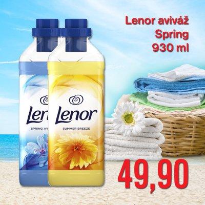Lenor aviváž Spring 930 ml