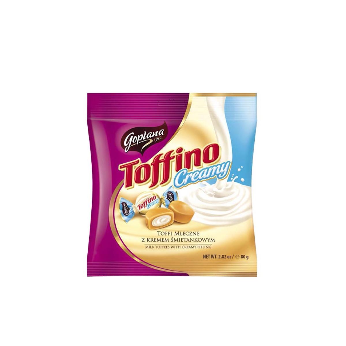 Toffino karamely smetanové 80 g