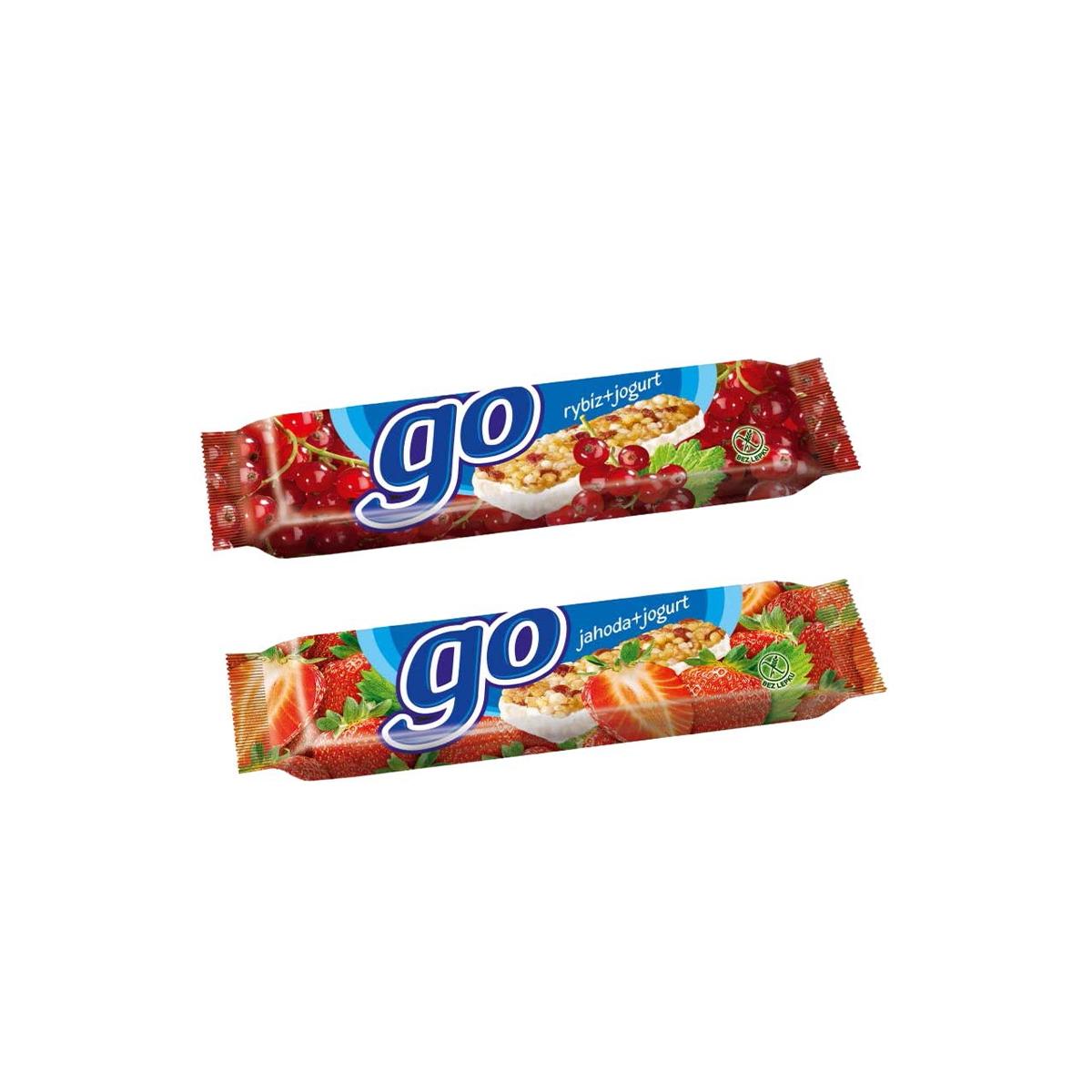 Go tyčinka rybízová v jogurtu 23 g