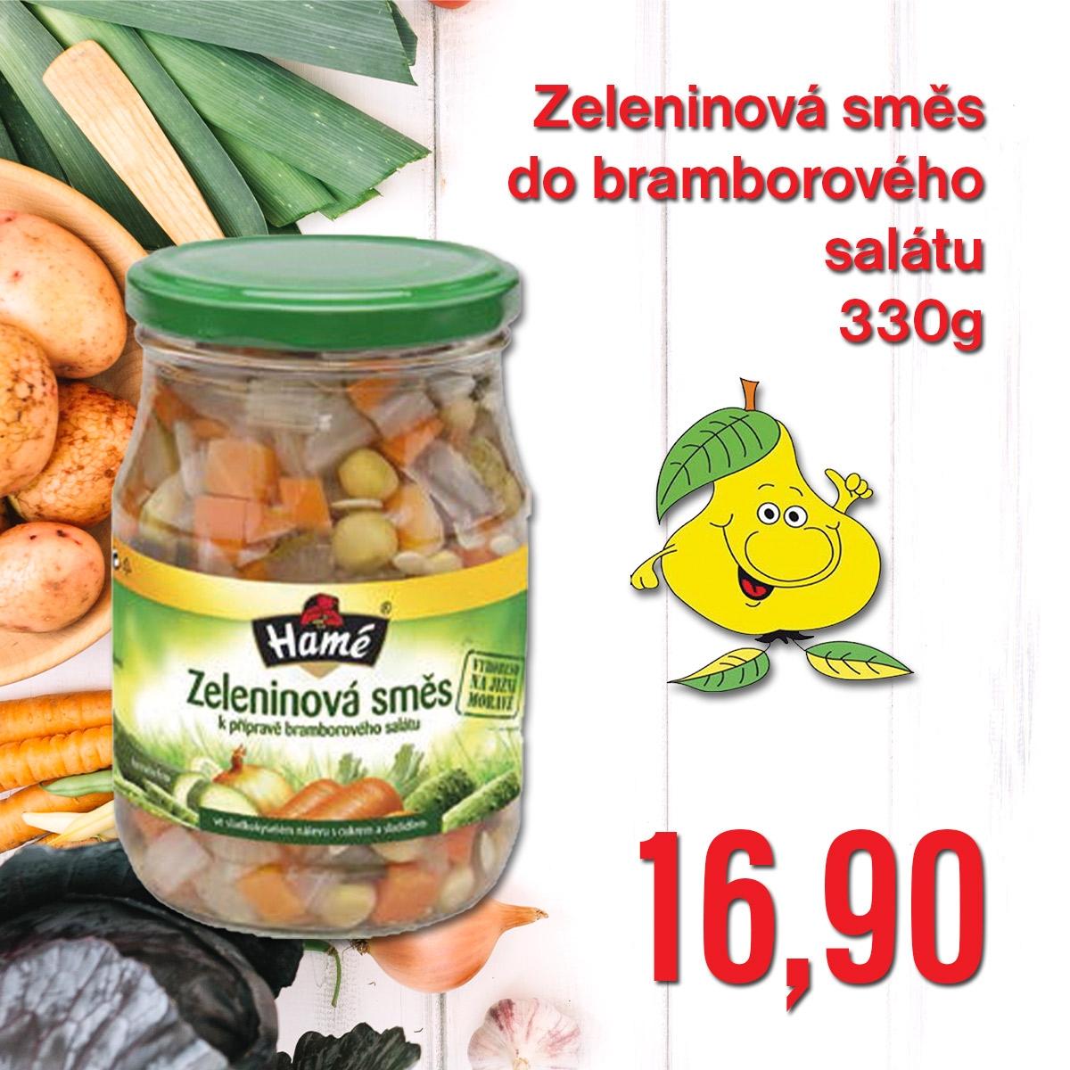 Zeleninová směs do bramborového salátu 330 g