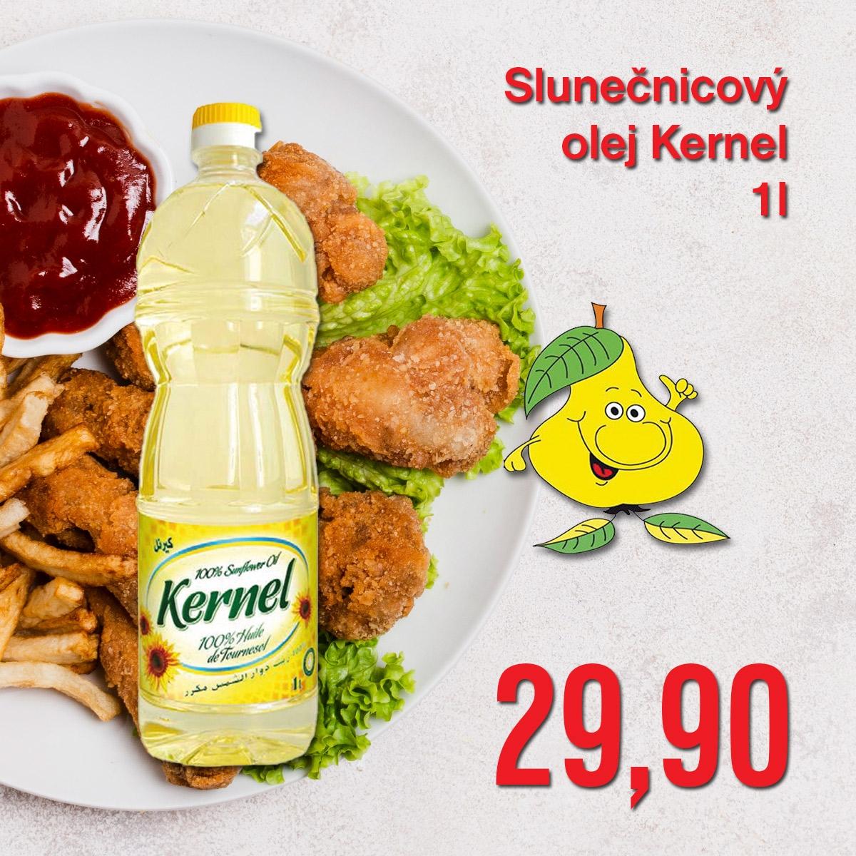 Slunečnicový olej Kernel 1 l