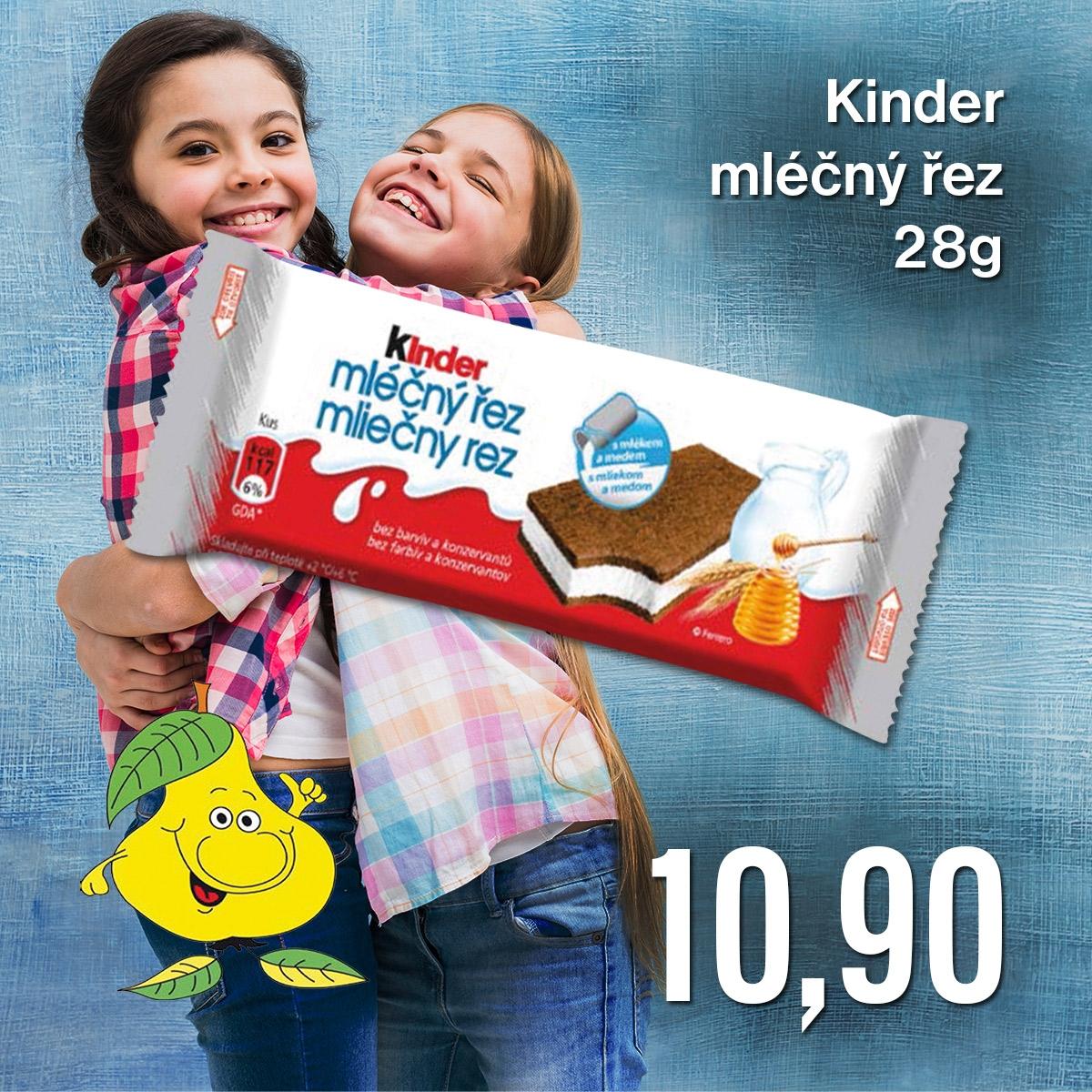 Kinder mléčný řez 28 g