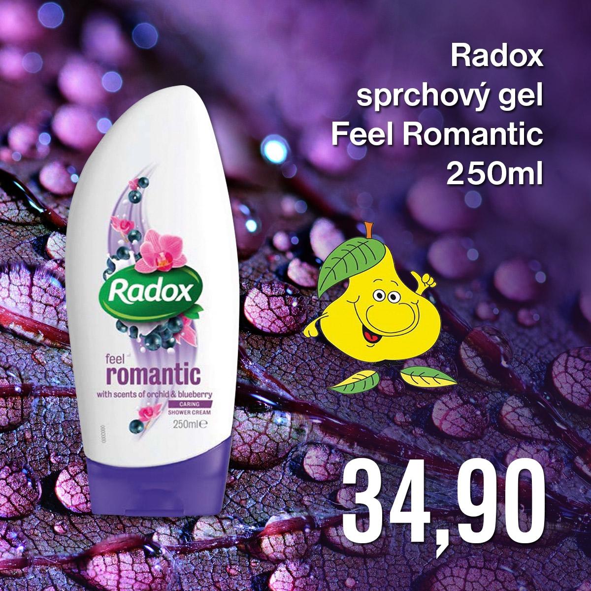 Radox sprchový gel Feel Romantic 250 ml