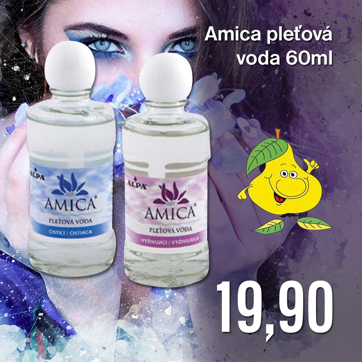 Amica pleťová voda 60 ml
