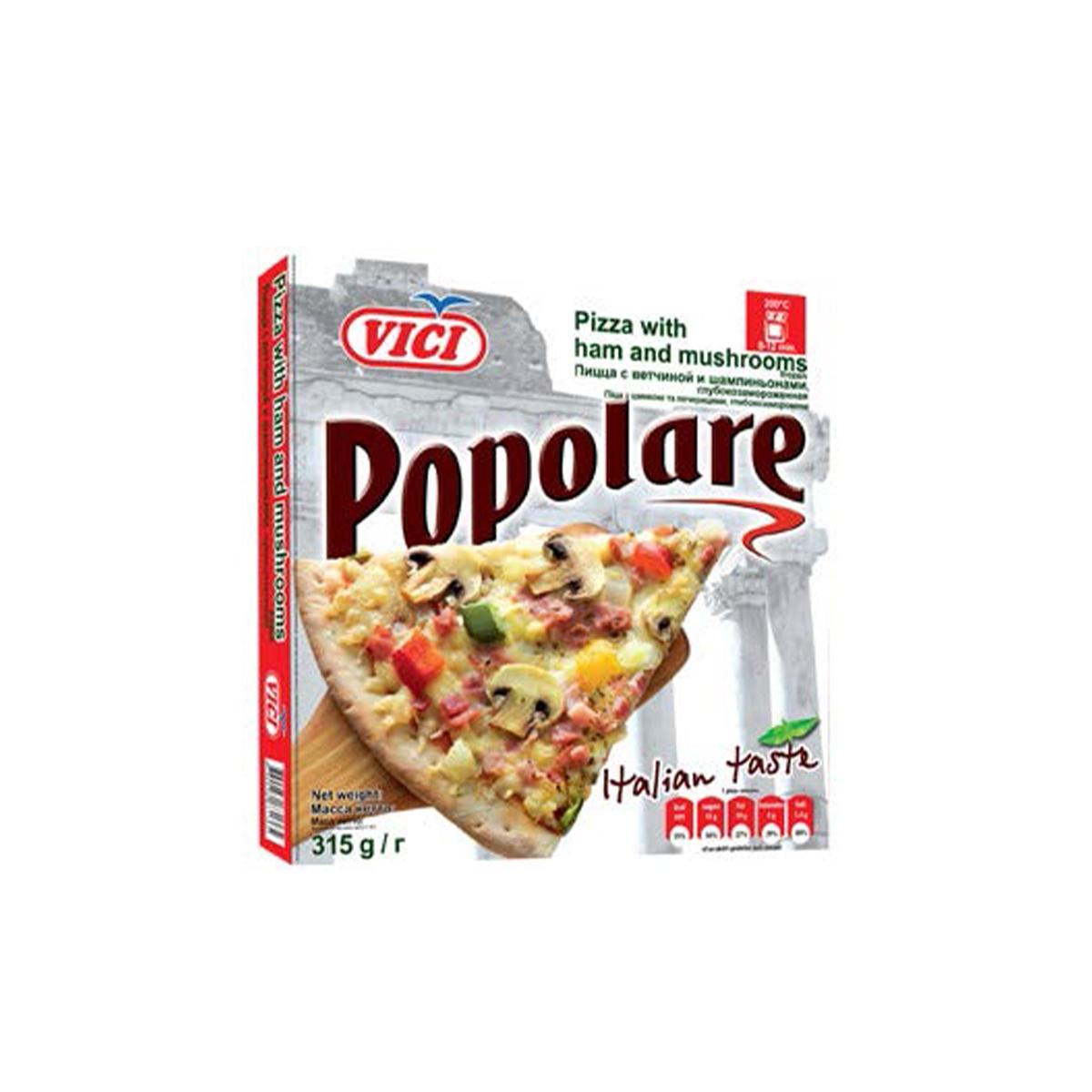Pizza Vici Popolare šunka a žampiony 315 g
