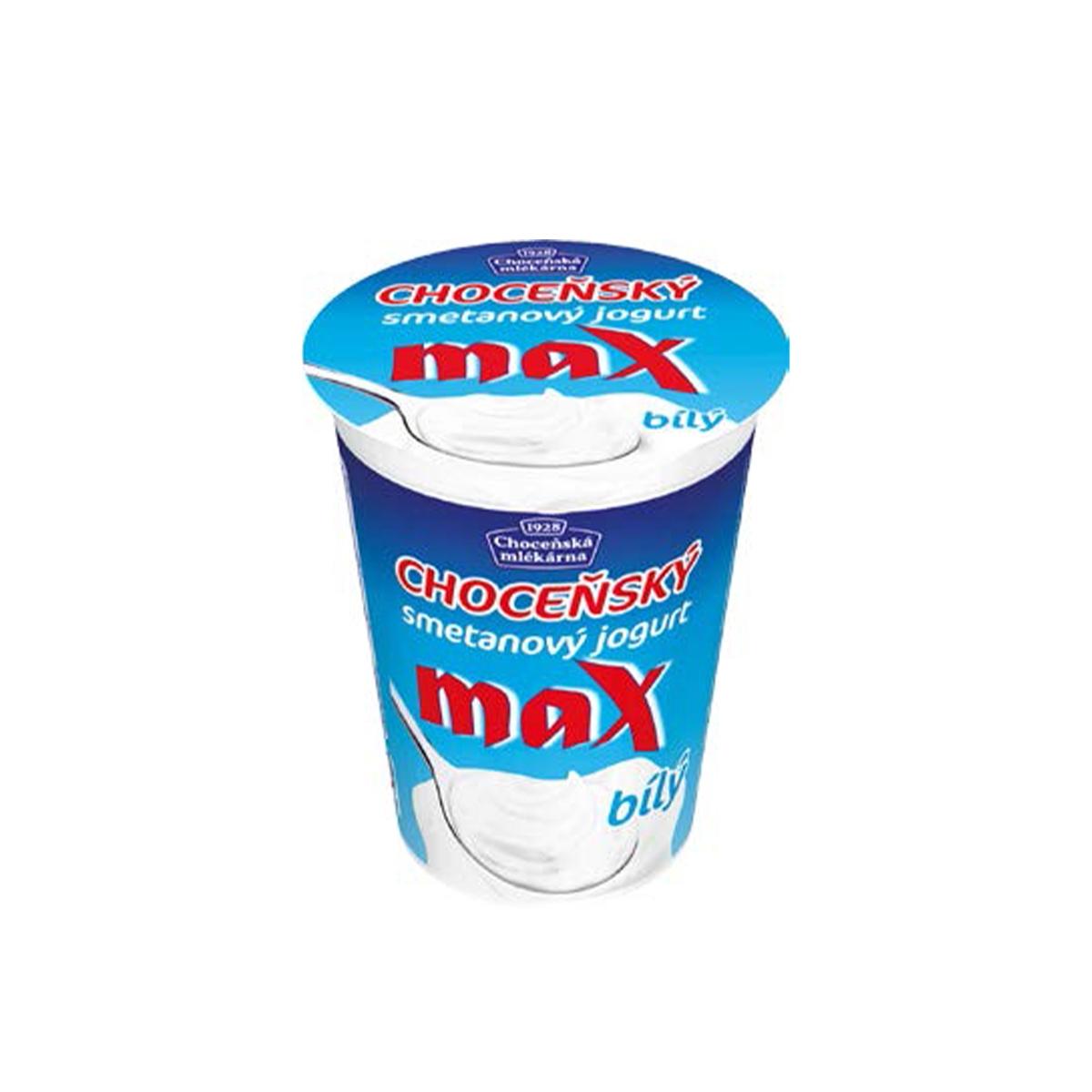 Bílý smetanový jogurt Max 380 g
