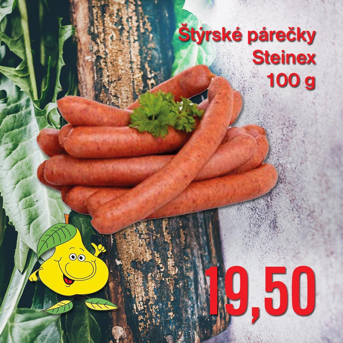 Štýrské párečky Steinex 100 g