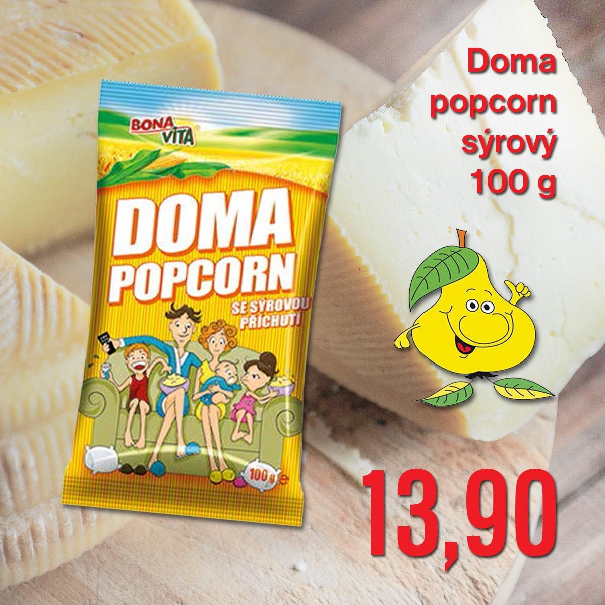 Doma popcorn sýrový 100 g