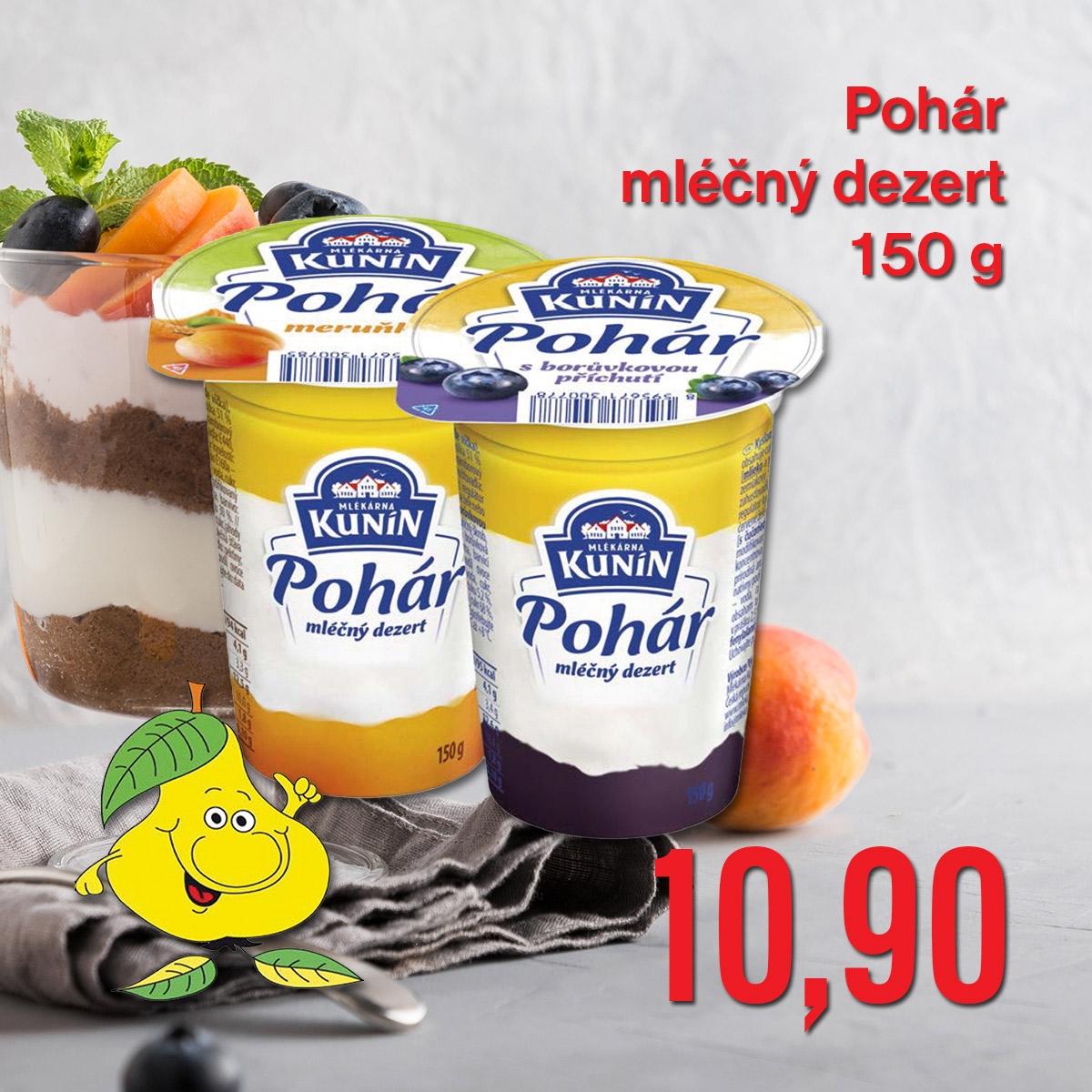 Pohár mléčný dezert 150 g