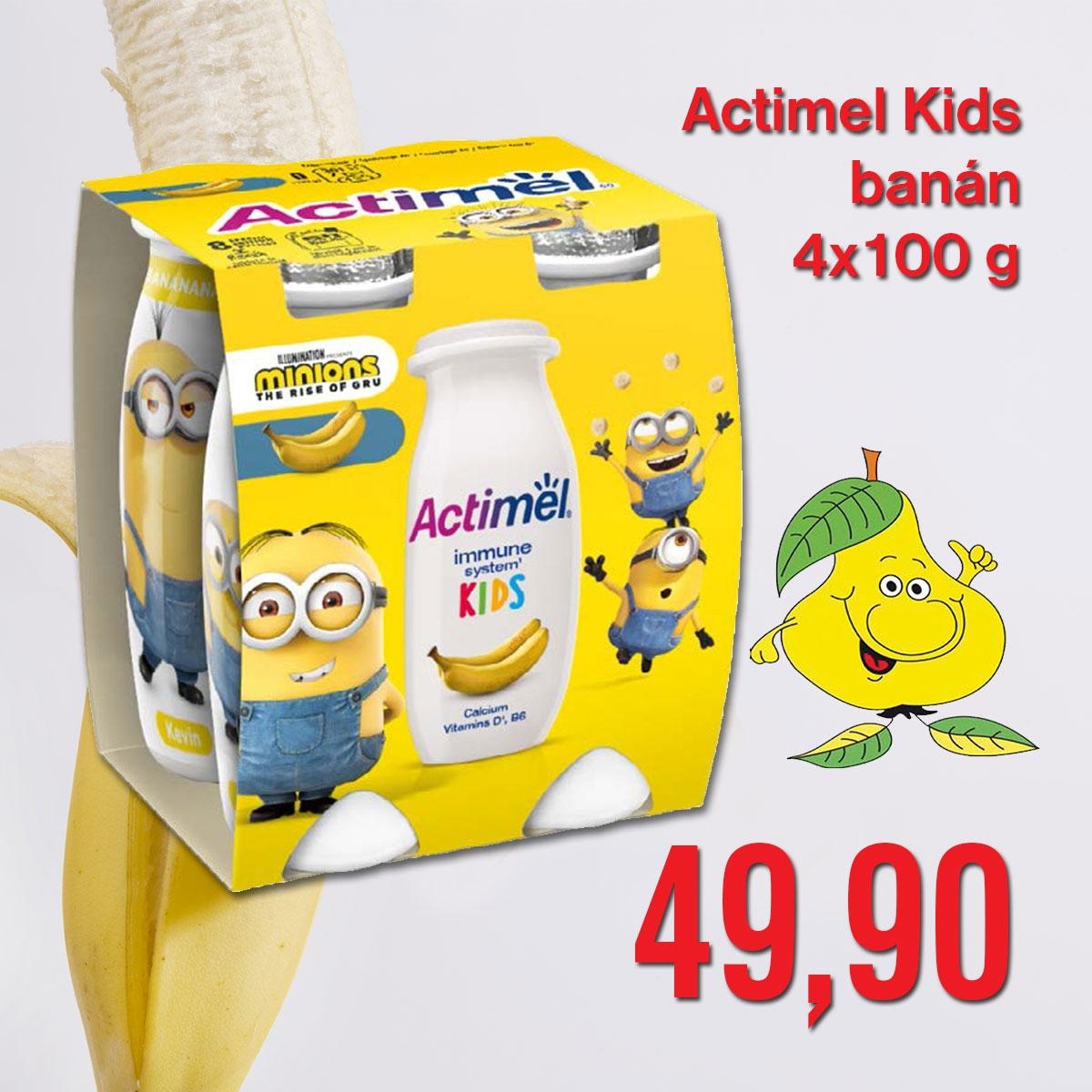 Actimel Kids banán 4 x 100 g