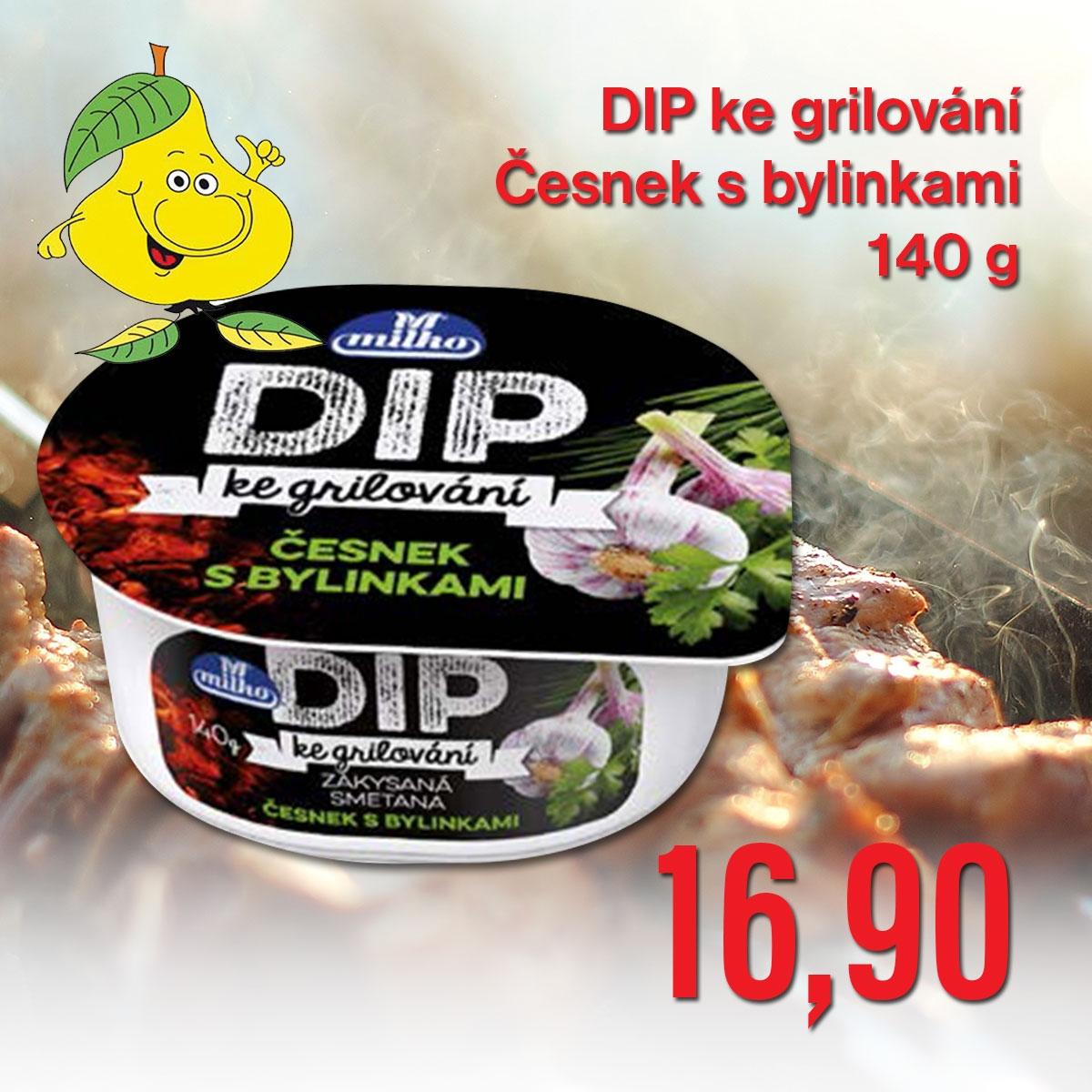 DIP ke grilování Česnek s bylinkami 140 g