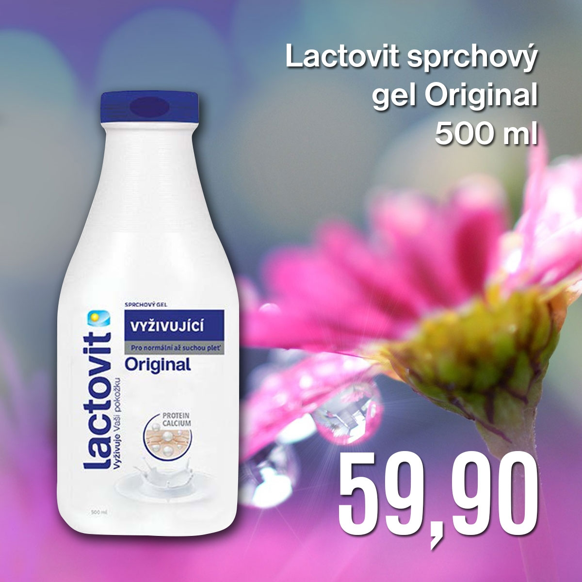 Lactovit sprchový gel Original 500 ml