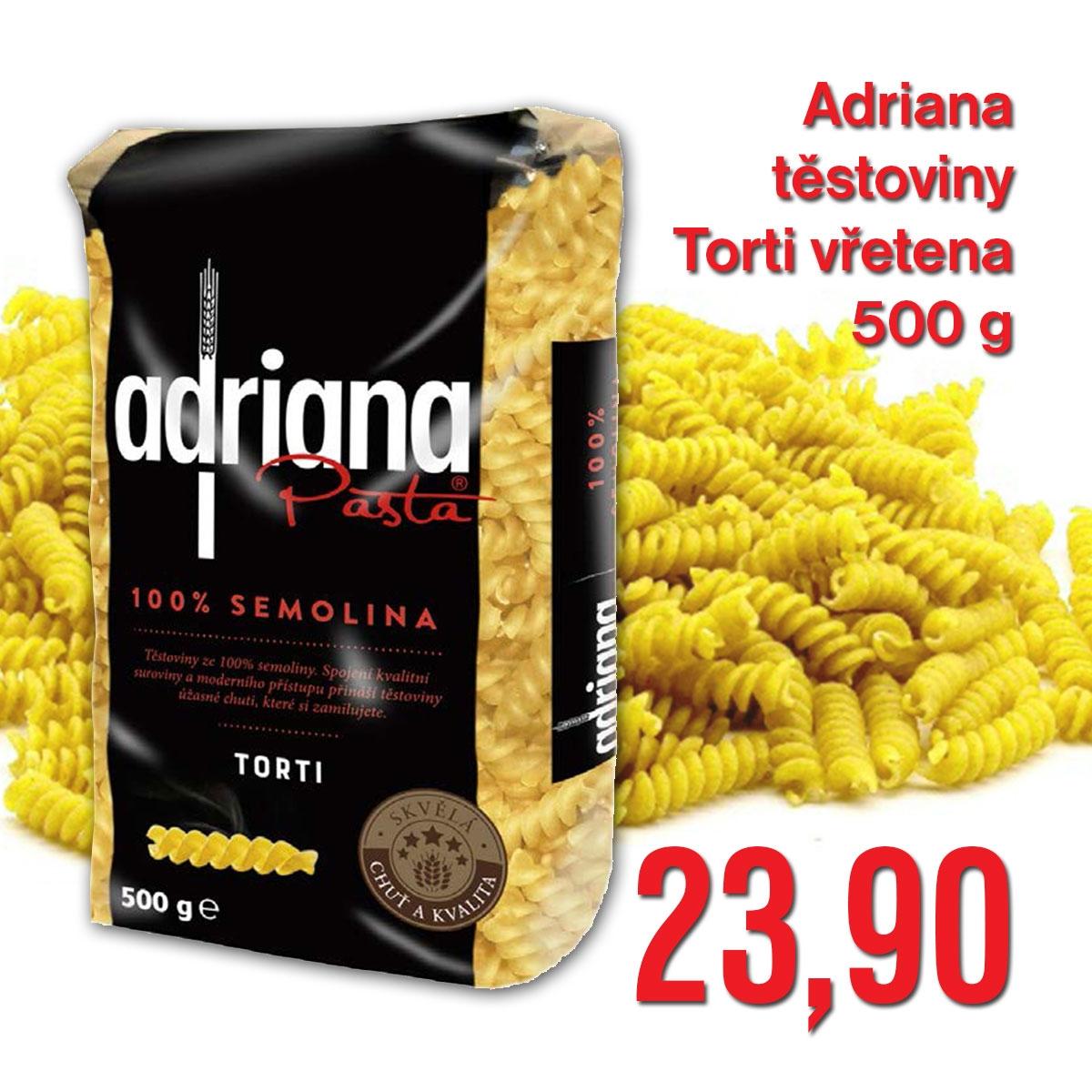 Adriana těstoviny Torti vřetena 500 g