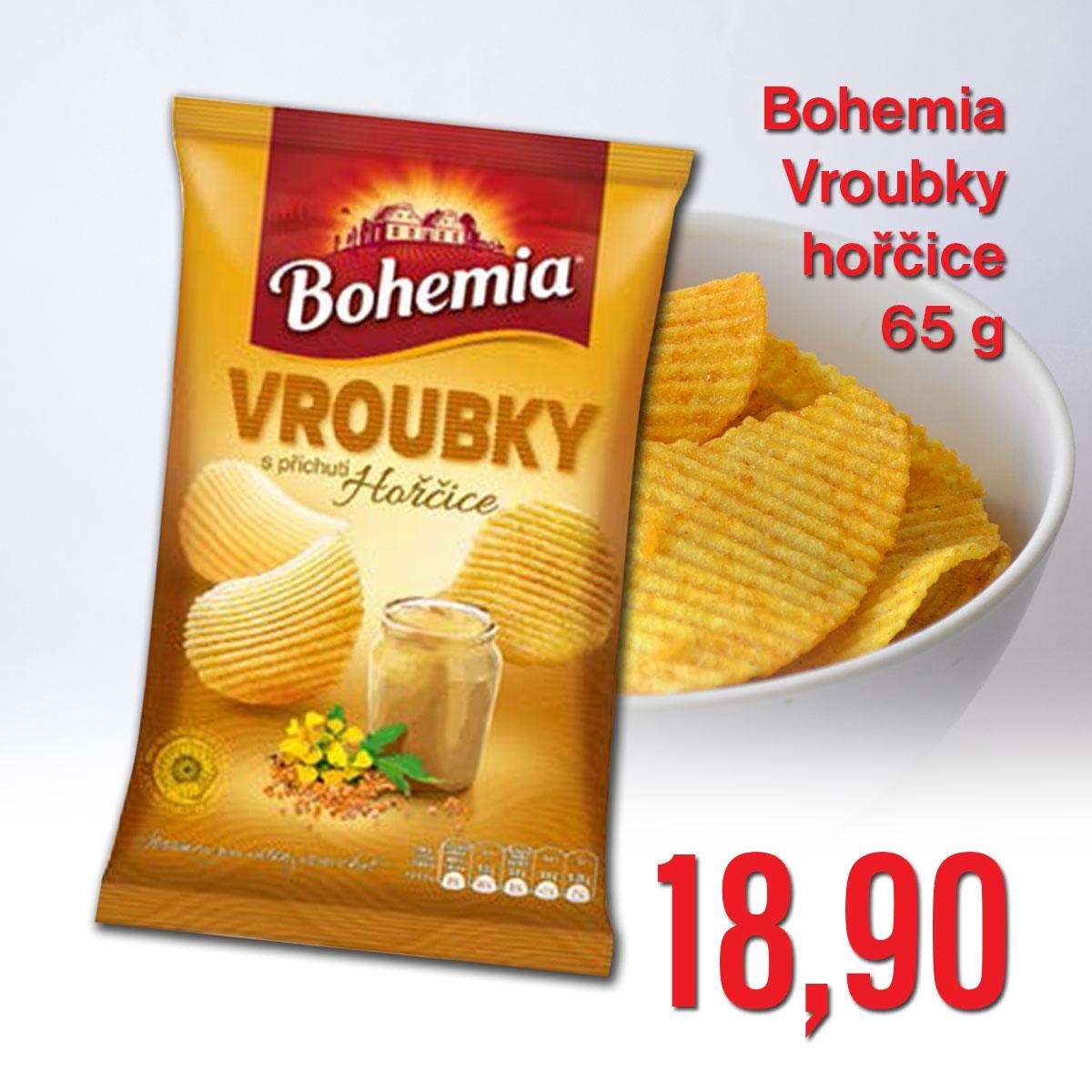 Bohemia Vroubky hořčice 65 g