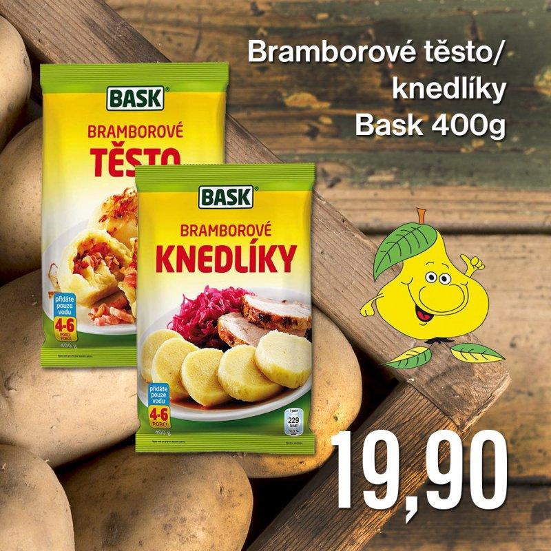 Bramborové těsto/ knedlíky Bask 400 g