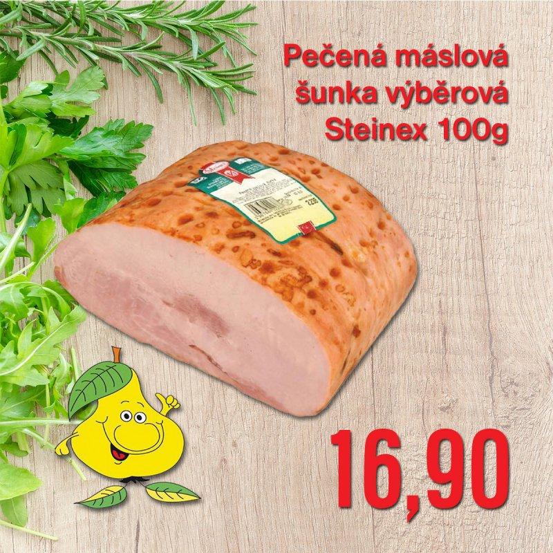 Pečená máslová šunka výběrová Steinex 100 g
