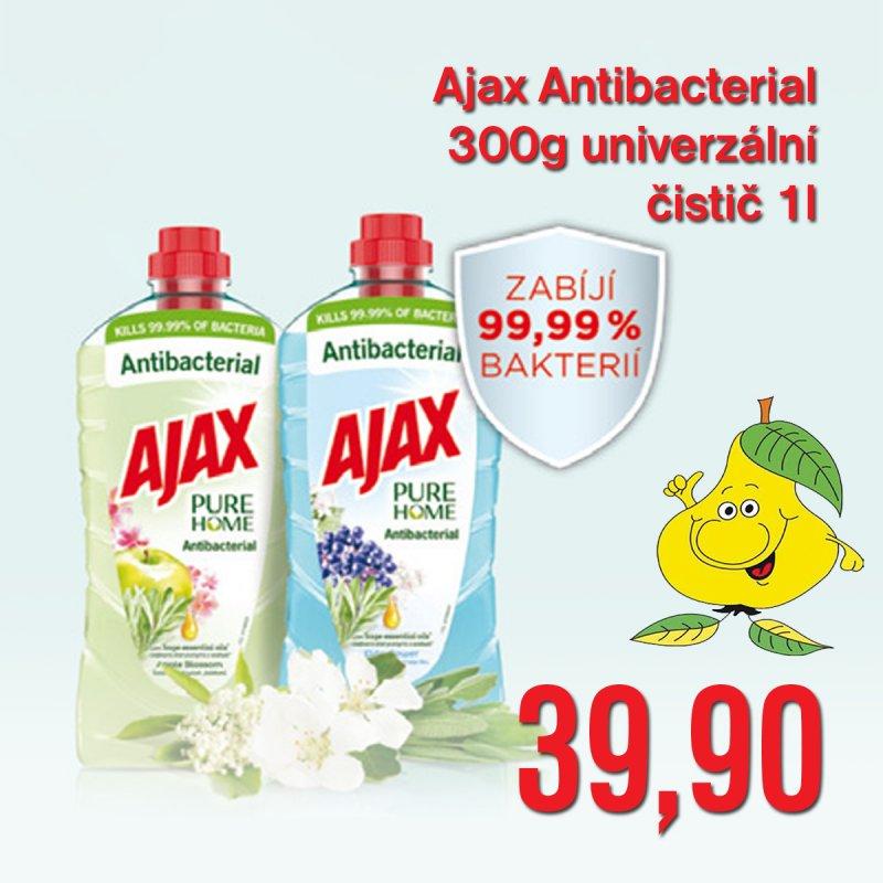 Ajax Antibacterial univerzální čistič 1 l