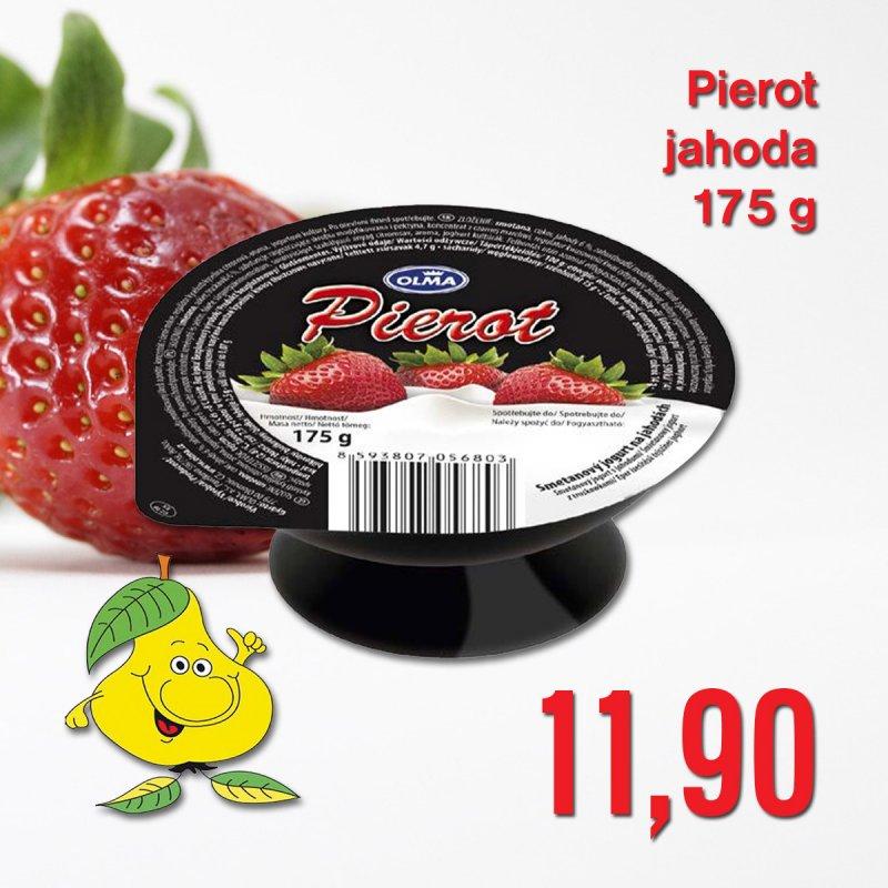 Pierot jahoda 175 g