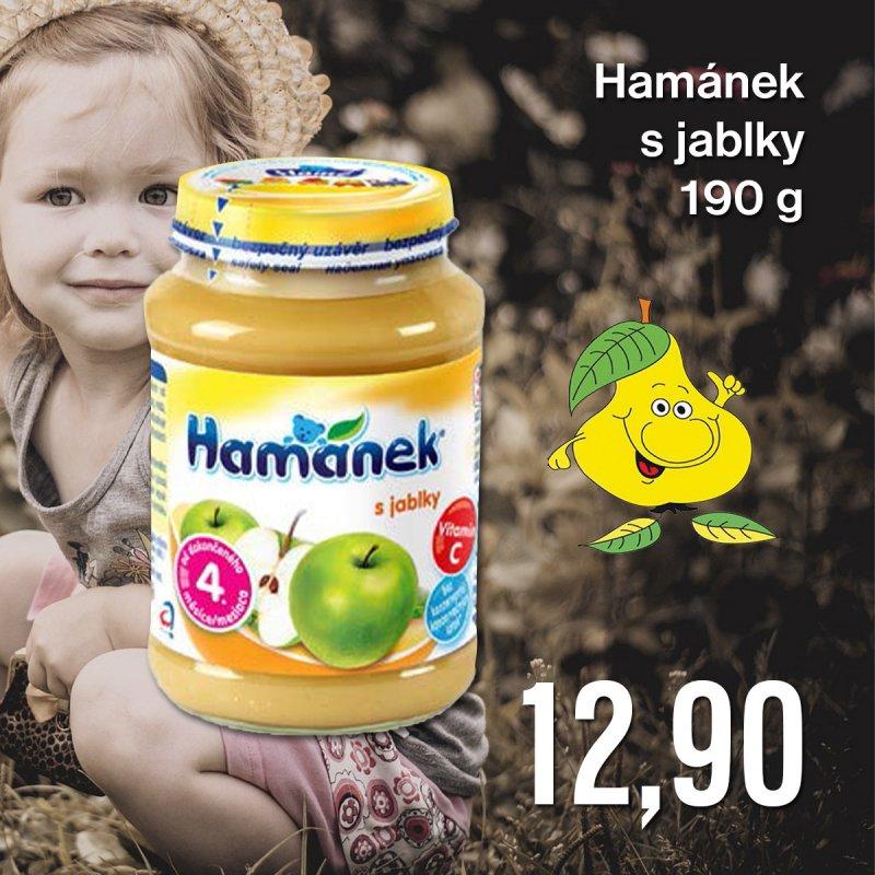 Hamánek s jablky 190 g