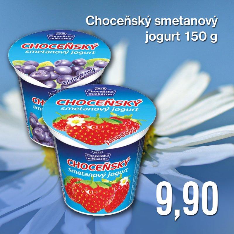 Choceňský smetanový jogurt 150 g